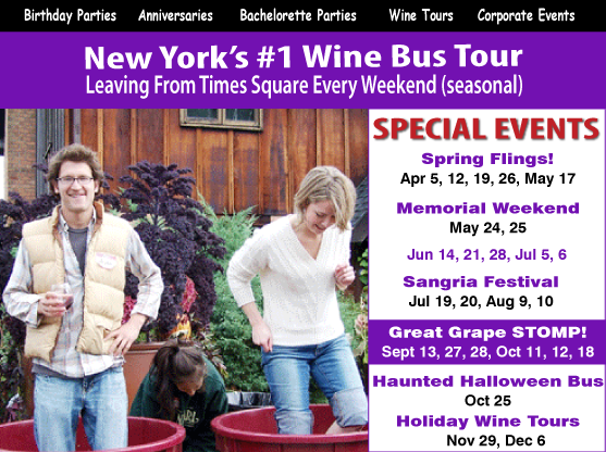 hudson valley wine tours